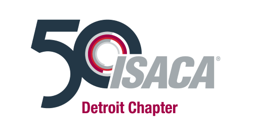 Logo for ISACA Detroit