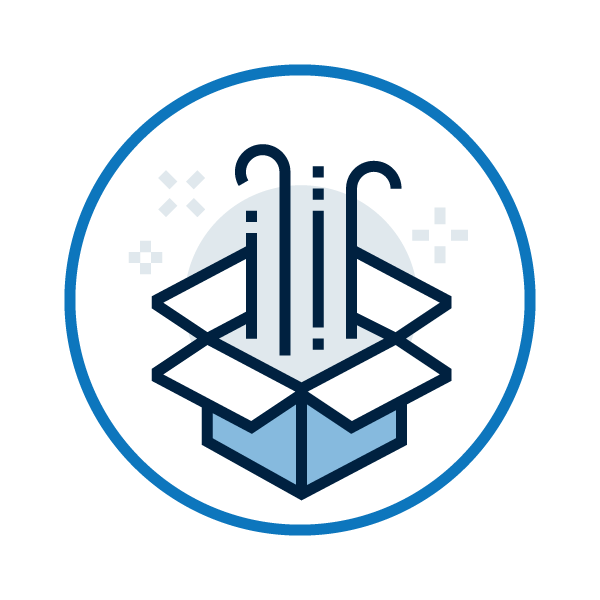 Icon for our easy-to-deploy security awareness training solutions